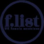 The F-List - UK Female Directory Logo